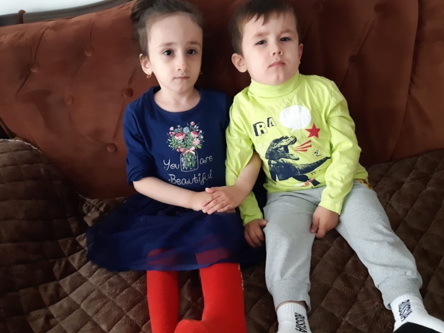Заставка для - Умар и Амина Даякаевы, 4 и 5 лет