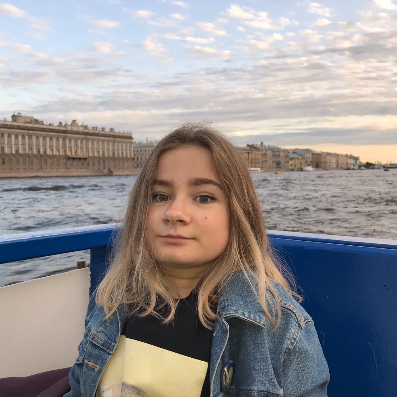 Заставка для - Анастасия Костерина, 15 лет