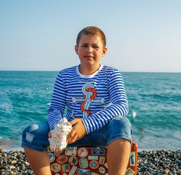 Заставка для - Артём Медведев, 13 лет