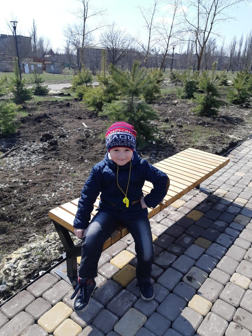 Арсений Токарев, 7 лет