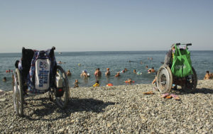 Лагерь на море